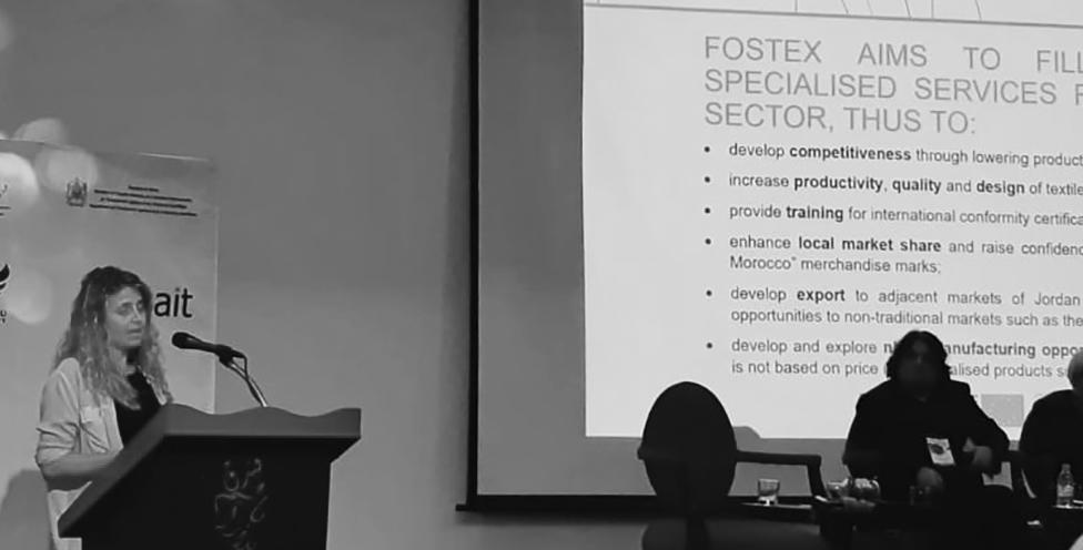 ITMC 2019: FOSTEX at the Smart Textile Salon thanks to ESITH