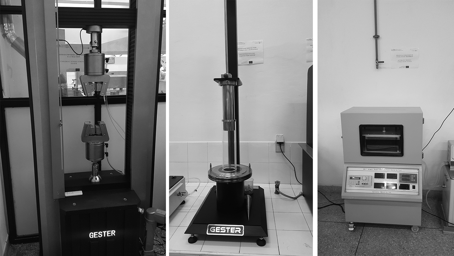 Updates from the advanced textile centre: equipment installed at ESITH!